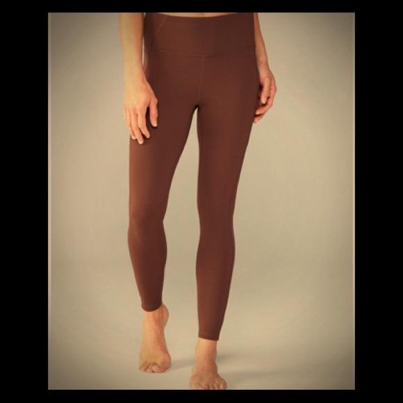 Prana Pants Electa Cocoa Leggings With Side Pockets Poshmark